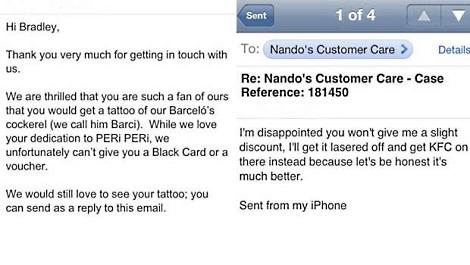 Nando's refusal