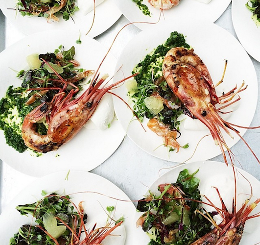 Nicole Franzen's shot of spot prawns is spot on. Photo: @nicole_franzen