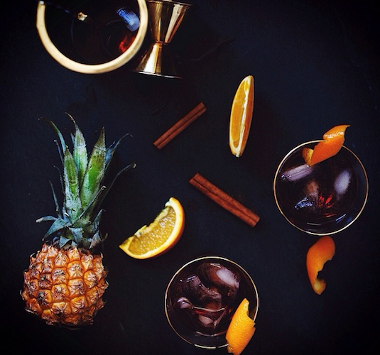 Food stylists take note: All cocktail spreads should take a cue from Joann Pai's handywork. Photo: @sliceofpai