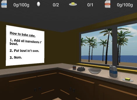 baking simulator directions