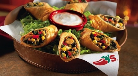 Southwestern Egg Rolls, one of the most recognizable dishes at Chili ...