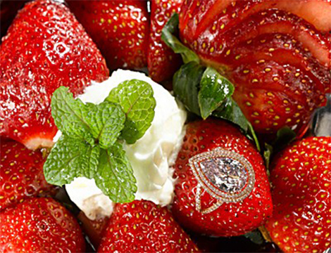 strawberries&ring