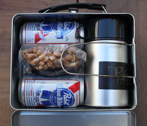The adult lunch box at Dirty Habit in San Francisco. (Photo: Grant Marek for Thrillist)