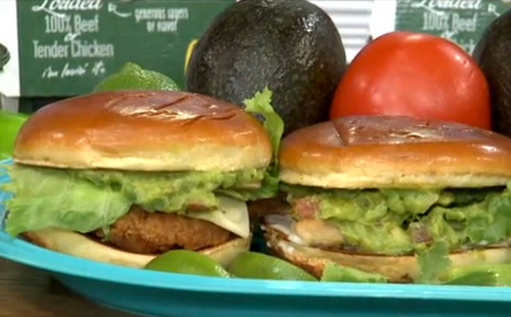 McDonald's Guacamole Burger and guac-topped chicken sandwich. (Photo: KDVR)