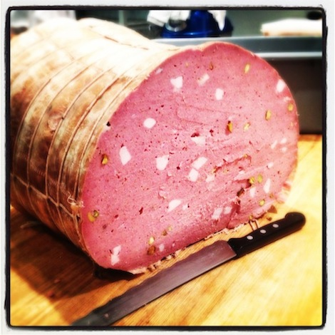 Brad Spence_200 lb Mortadella_The Finished