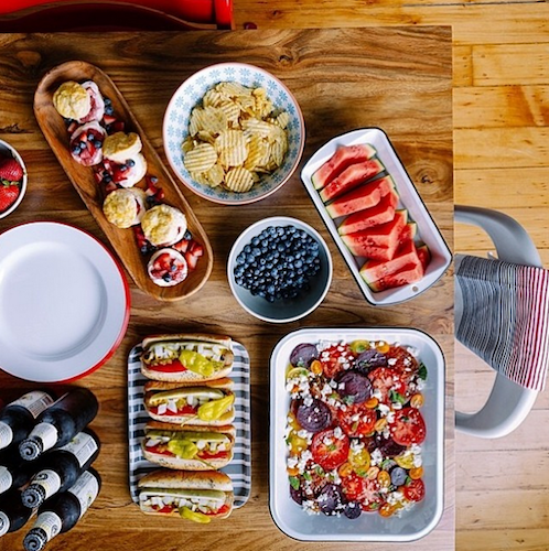 Food stylist Rebekah Peppler preps a glorious Memorial Day spread. Photo: