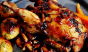 Who needs BBQ chicken when you have brandy and hoisin-glazed quail? Photo: