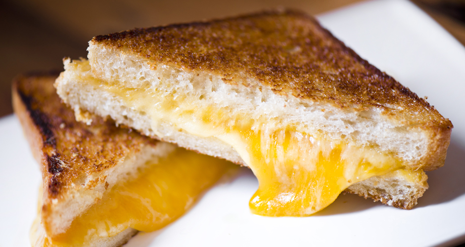 ... : How to Make the Ultimate Grilled Cheese Sandwich | First We Feast