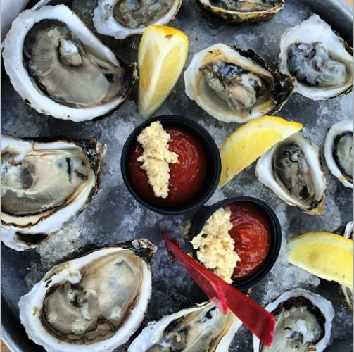 Oysters for days. Photo:
