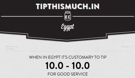 tip Egypt