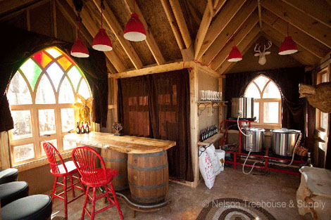 Tiny Ohio Treehouse Is Actually A Gorgeous Microbrewery