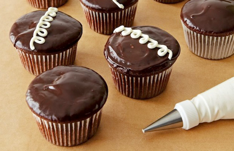 Hostess Cupcakes. This recipe is close to any standard cupcake version you may have on hand, but it is infused with cream and then dipped in chocolate, which sounds like a lot of work, but it all goes pretty quickly.