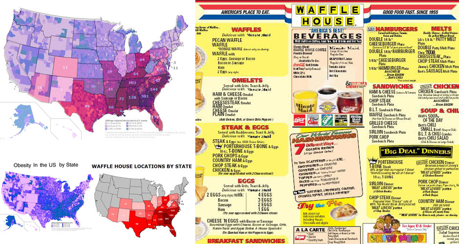 Photo: Mapsontheweb, Waffle House