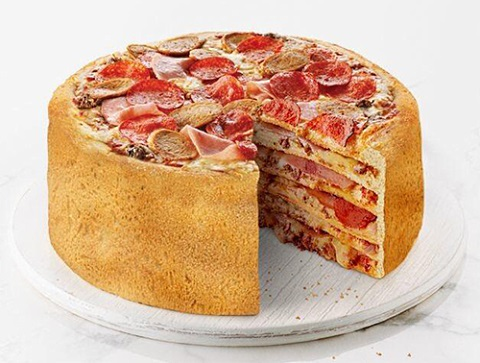 boston pizza pizza cake