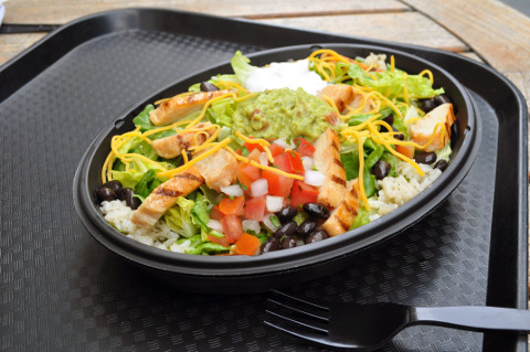 cantina power grilled chicken bowl