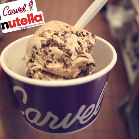 Carvel Nutella ice cream