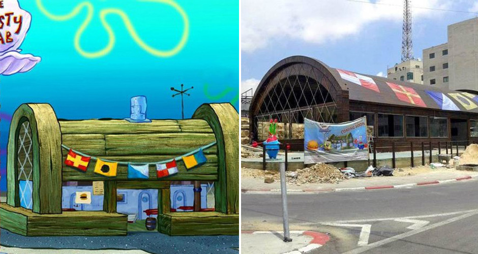 Real life krusty krab restaurant will be opening up in palestine