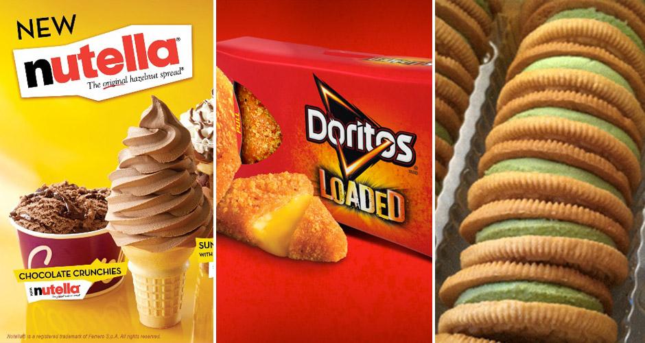 Photos: Carvel, Doritos, Junk Food Guy
