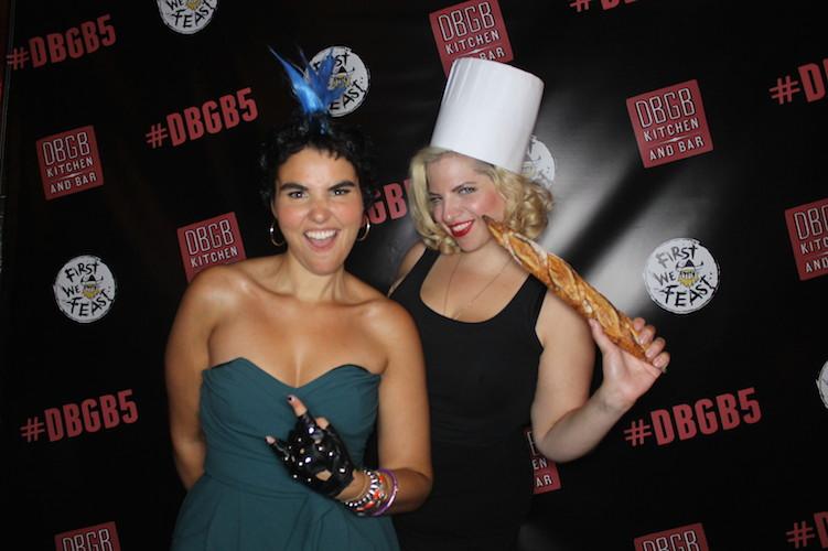 Maisie Wilhelm (Dinex Group) and food writer Jordana Rothman