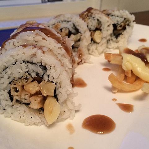 poutine sushi