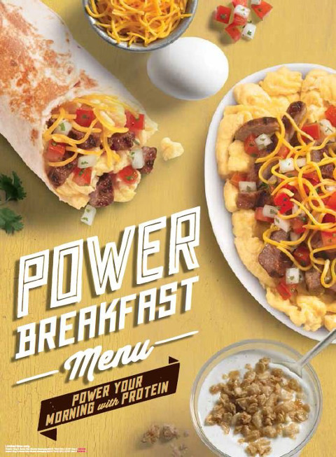 power breakfast menu pop