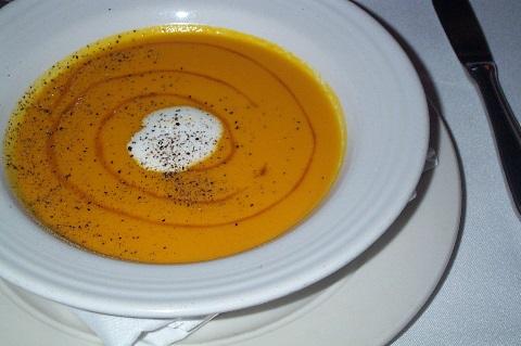 umami carrot soup
