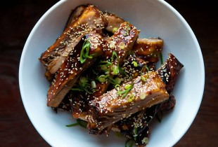 Chinese Style Honey Hoisin Sticky Ribs. You could use almost any rib for this recipe, except for short ribs. Prepare to get your hands dirty. Get the recipe.
