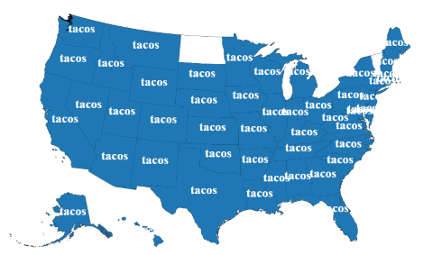 food twitter taco map
