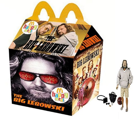 happy meal the big lebowski
