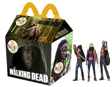 happy meal the walking dead
