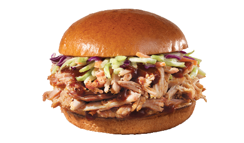wendy's pulled pork sandwich