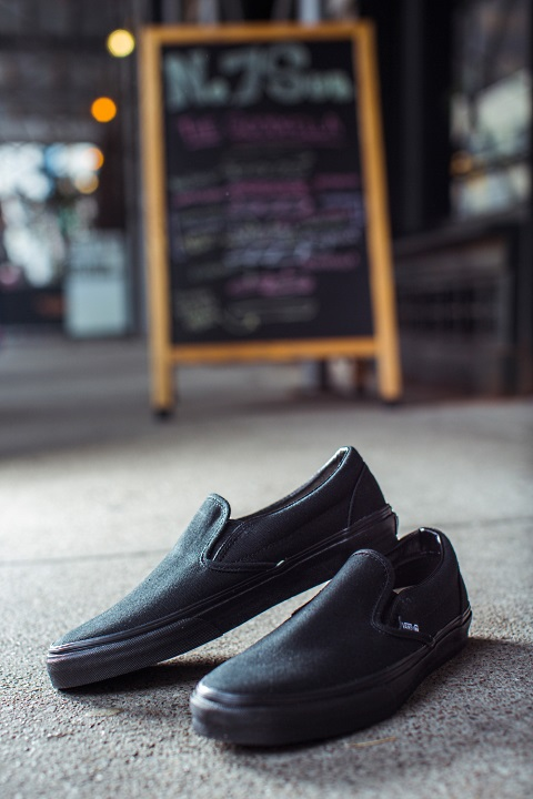 check out vans' first professional kitchen shoes | first we feast