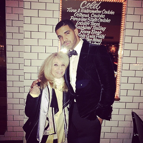 drake mom birthday menu