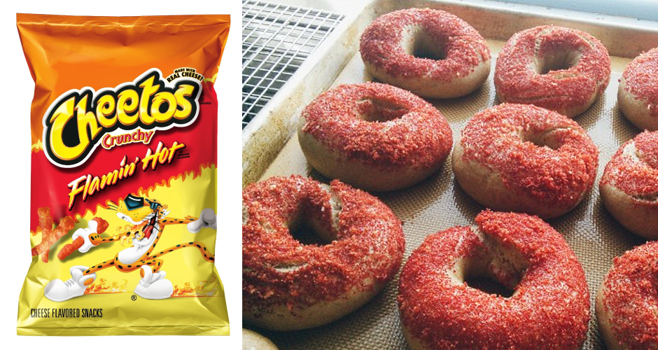 Are Flamin' Hot Cheetos What Bagels Were Missing? | First