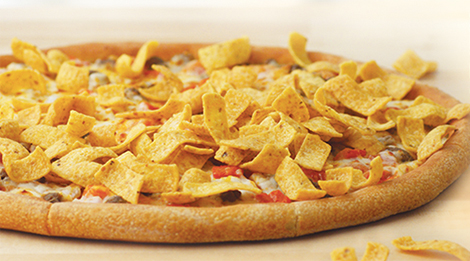 Papa John's Frito Chili Pizza. (Photo: Papa John's)