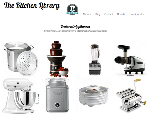 kitchen library featured appliances
