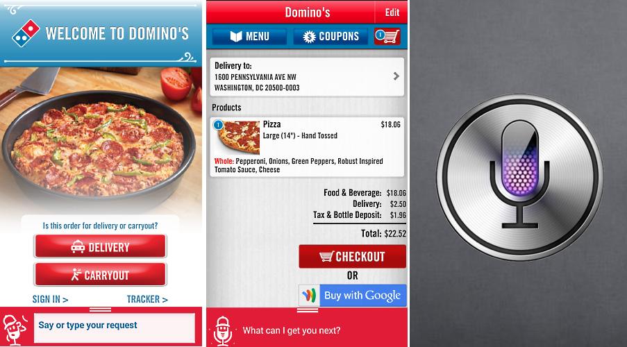 Domino Pizza Voice Ordering