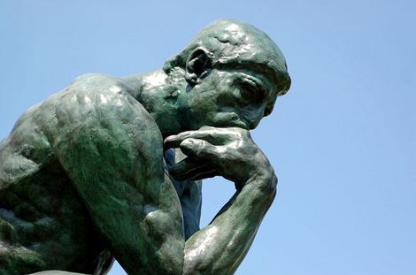 The Thinker (or should it be, the drinker?) (Photo: Flickr/ Brian Hillegas)
