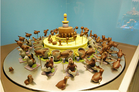 zoetrope chocolate cake 1