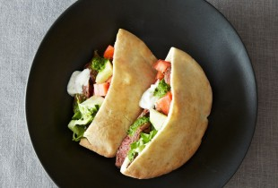 Home-Style Lamb Shawarma. There may seem like there's a lot of spice in this dish, but with a dollop of yogurt, it becomes a perfectly balanced, delectable sandwich. Get the recipe.