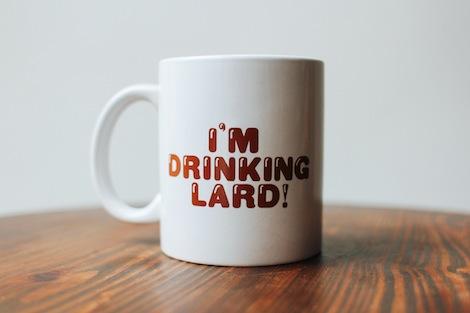 Lucky Peach Lard Mug