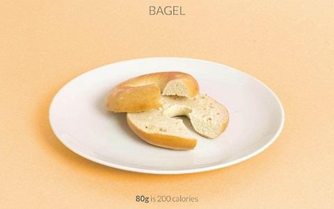 calorific bagel