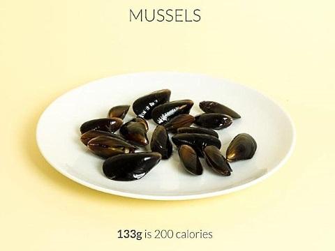 calorific mussels