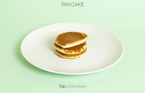 calorific pancake
