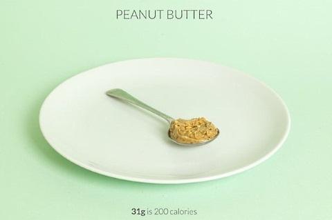 calorific peanut butter