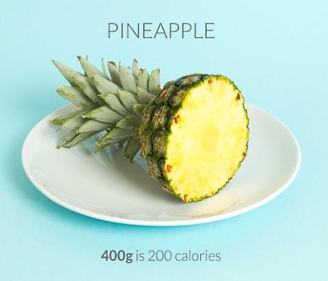 calorific pineapple