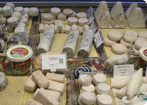 Goats' cheeses. (Photo: Flickr/ Marc Kjerland)