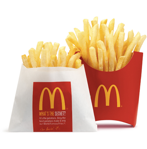 McDonald's says it won't source GM potatoes for its fries. (Photo: McDonald's)