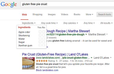 google gluten free pie crust