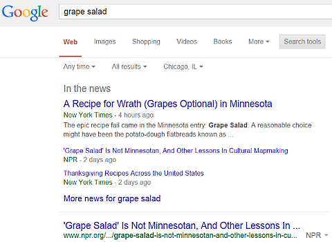 google grape salad 1